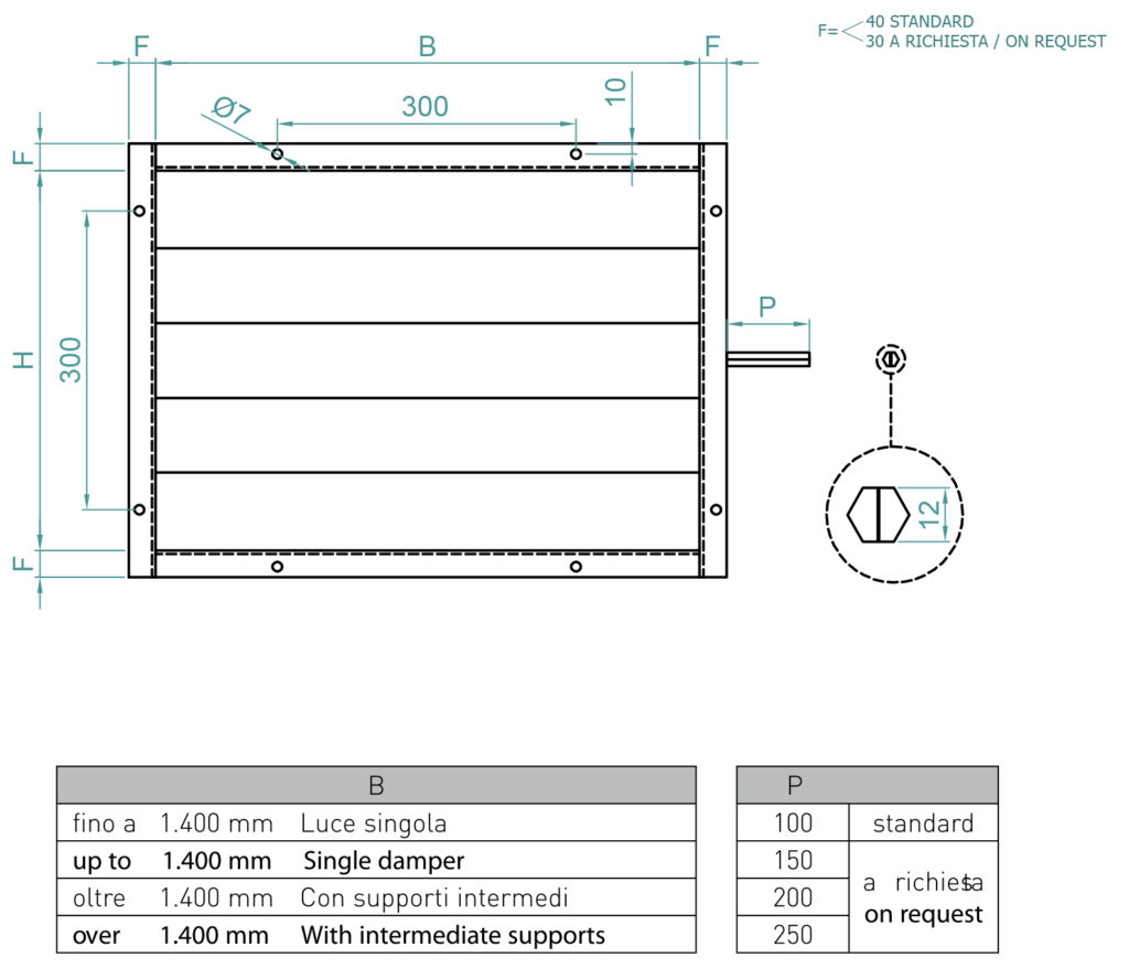 Serrande Serie SER 100 - ATEX DT 1-1